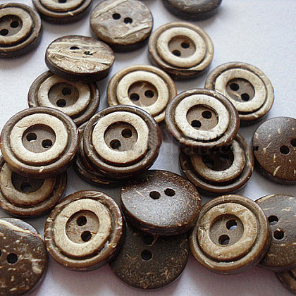 Concéntrico 2-hoyo botonesNNA0YXZ-1