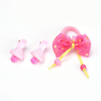 Preciosos conjuntos de accesorios para el cabello niñosOHAR-S193-20-1