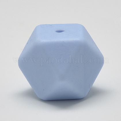 Abalorios de silicona ambiental de grado alimenticioSIL-Q009A-57-1