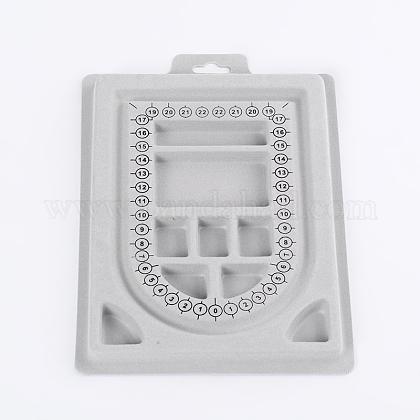 Пластиковые бисера доски дизайнаC073Y-1