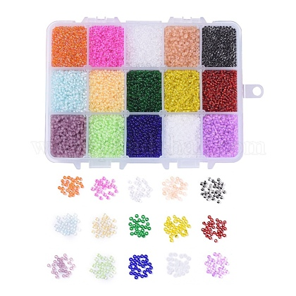 FGB® 12/0 Transparent Glass Seed Beads SEED-JP0008-03-1
