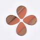Colgantes de resina y madera de nogalRESI-S358-95-2