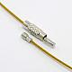 Steel Wire Necklace CordTWIR-SW001-6-3