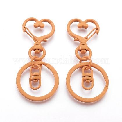 Porte-clés en forme de cœur en ferIFIN-F151-03-14-FF-1