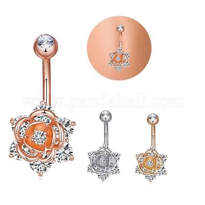 Joyería piercing de latónAJEW-EE0006-84G-1