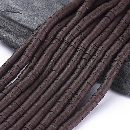 Abalorios de arcilla polimérica hechos a manoCLAY-R067-8.0mm-38-1