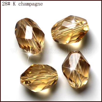 Imitation Austrian Crystal BeadsSWAR-F077-9x6mm-28-1