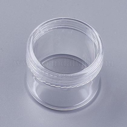 Tarro de crema facial portátil de plástico de 20g psMRMJ-WH0011-J03-1