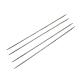 Agujas de tejer de doble punta de acero inoxidableTOOL-R044-240x3.25mm-1