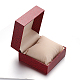 Square PU Leather Jewelry Boxes for WatchCON-M004-06-3