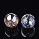 Handmade Blown Glass Globe BeadsDH017J-1-20mm-AB-2