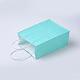 Sacs en papier kraft de couleur pureAJEW-G020-C-14-2