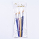 Cepillos de arte de plástico conjuntos de pluma de valorX-TOOL-WH0044-02-2