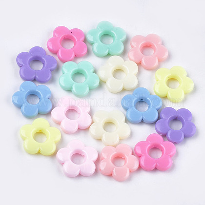 Opaques cadres de perles acryliquesMACR-S296-69-1