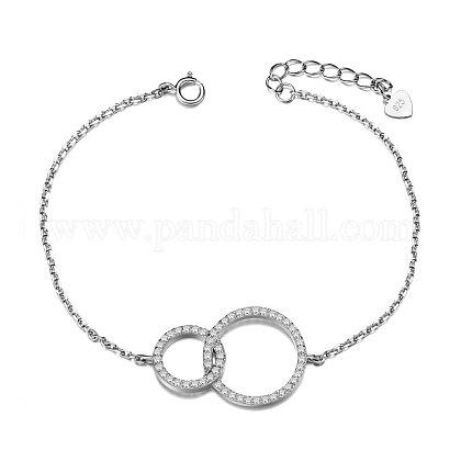 SHEGRACE® 925 Sterling Silver BraceletJB457A-1