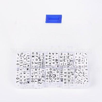 1 caja de cuentas de acrílicoSACR-X0010-B-1