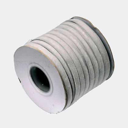 Ruban de velours en polyester pour emballage de cadeaux et décoration de festivalSRIB-M001-10mm-012-1