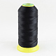 Polyester Sewing Thread, Black, 0.5mm; about 870m/roll