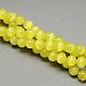 Chapelets de perles d'œil de chatCE-R002-6mm-09-2