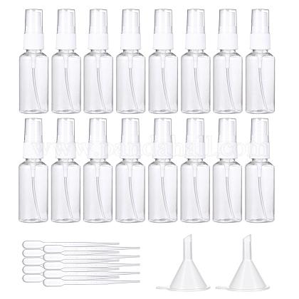 30ml透明ペットプラスチック詰め替えスプレーボトルMRMJ-BC0001-50-1