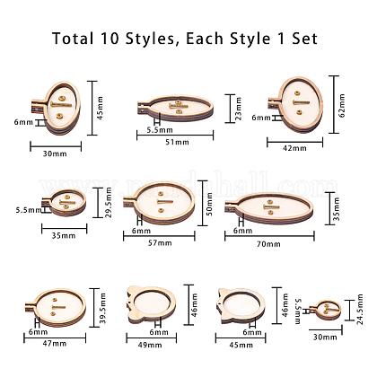 木製ミニ刺繍枠TOOL-PH0016-76-1