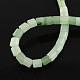 Natural Green Aventurine Stone Bead StrandsX-G-R187-18-2