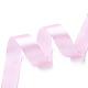 Breast Cancer Pink Awareness Ribbon Making Materials Light Pink Satin Ribbon Wedding Sewing DIYX-RC25mmY004-3