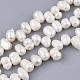 Hebras de perlas de agua dulce cultivadas naturalesPEAR-Q015-035-1