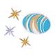 Benecreat encaje bordado de tela hecha a manoFIND-BC0001-03-3