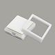 Boîtes d'ensemble de bijoux en plastiqueX-OBOX-G007-03B-2
