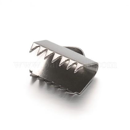 304 embouts à sertir en ruban en acier inoxydableSTAS-E103-08C-1