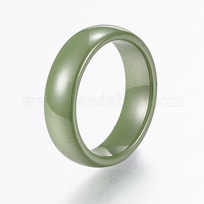 Handmade Porcelain Wide Band RingsRJEW-H121-21C-16mm-1