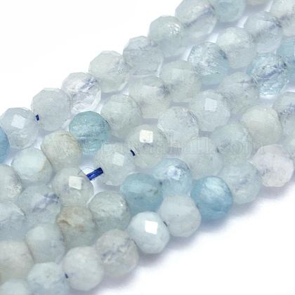 Natural Aquamarine Beads StrandsG-O172-08-1