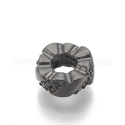 Латунные бусиныZIRC-T006-16B-1