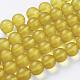 Chapelets de perles en verre mateX-G07HW057-1