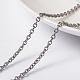 Placas de vacío 304 cadenas de cable de acero inoxidableCHS-L014-08P-1