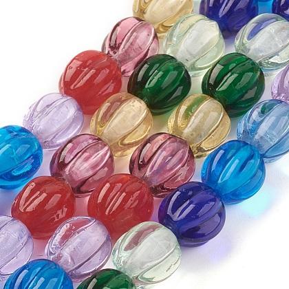 Handmade Lampwork Beads StrandsLAMP-P051-A01-1