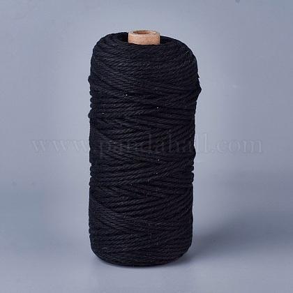 Hilos de hilo de algodón para hacer joyasOCOR-WH0034-A-02-1