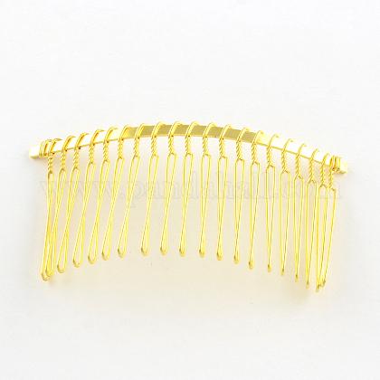 Accesorios de pelo cabello fornituras de peines de pelo de hierroOHAR-Q043-18G-1