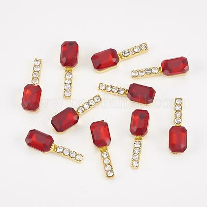 Cabochons Diamante de imitación de la aleaciónMRMJ-T015-19B-1