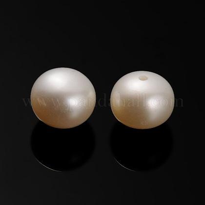 Perlas naturales abalorios de agua dulce cultivadasPEAR-E001-03-1