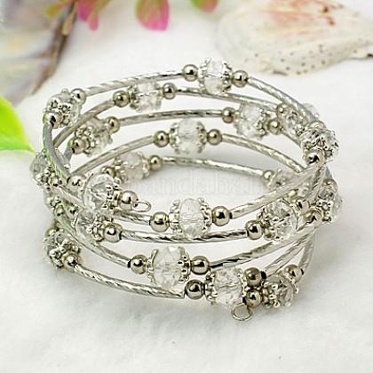 Fashion Wrap BraceletsBJEW-JB00628-01-1