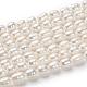 Grado de hebras de perlas de agua dulce cultivadas naturalesX-A23WD011-5