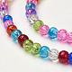 Crackle Glass Beads StrandsGGM001-2