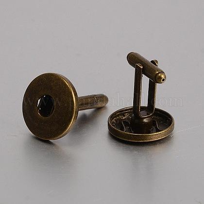 Brass Snap Button MakingKK-J184-35AB-NF-1