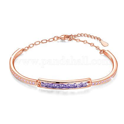 Shegrace® pulseras de cadena de latónJB25F-1