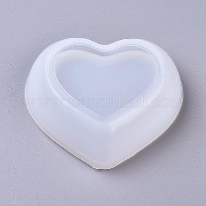 Moldes de silicona diy heart dishDIY-G014-19-1