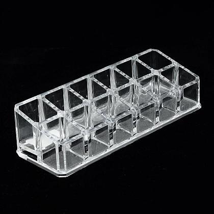 Plastic Cosmetic Storage Display BoxODIS-S013-10-1