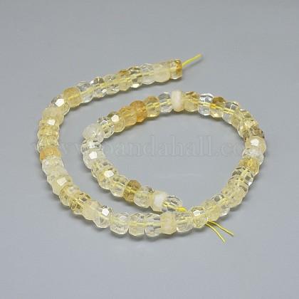 Natural Citrine Beads StrandsG-F632-13D-02-1