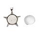 Sets de accessoires pour bricolage de pendentifDIY-X0289-001AS-1